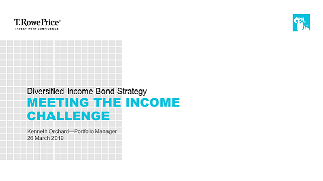 Global Bonds: Meeting the Income Challenge