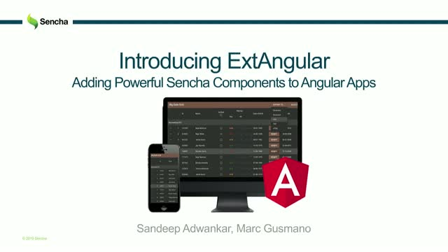 SNC - Introducing ExtAngular: Adding Powerful Sencha Components to Angular Apps