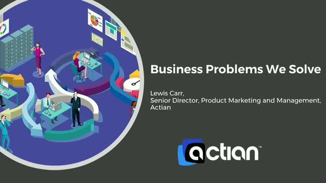 Actian - Business Problems We Solve