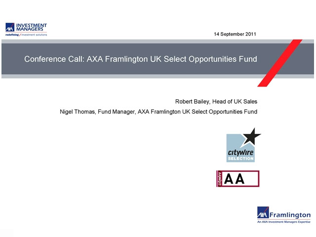 AXA Framlington UK Select Opportunities Fund