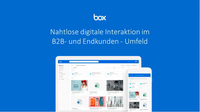 (GERMAN LANG) Leveraging Box Platform for seamless digital customer interaction