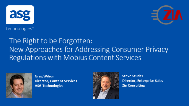 New Approaches for Addressing Consumer Privacy Regulations with Mobius