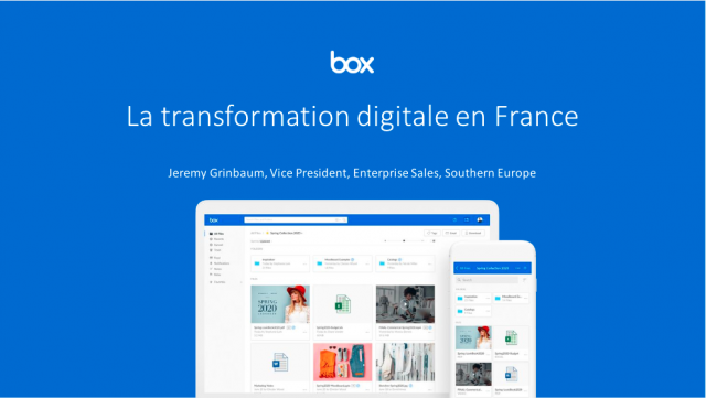 (FRENCH LANGUAGE) The evolution of digital transformation in France