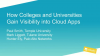 How Colleges and Universities Gain Visibility into Cloud Apps