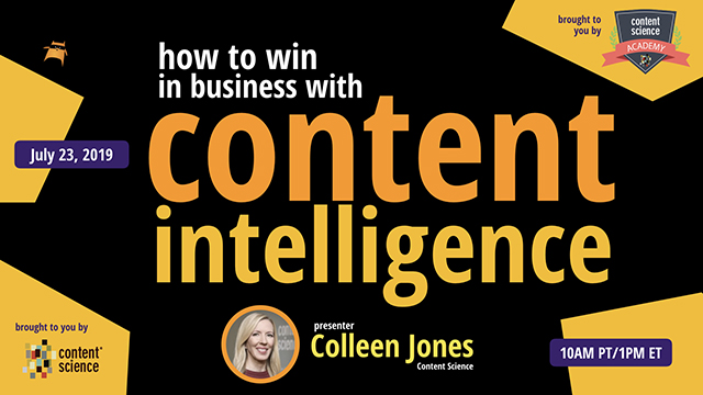 How to Win in Business with Content Intelligence