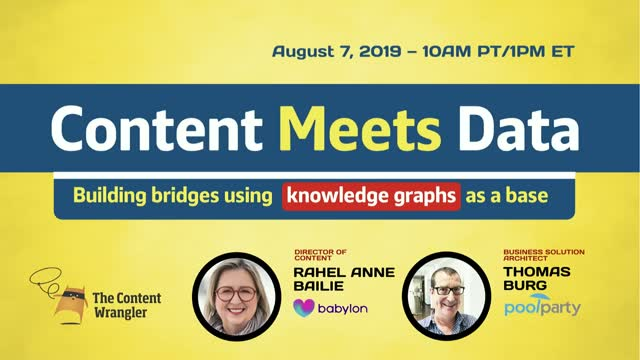 Content Meets Data: Building Bridges using Knowledge Graphs as a Base