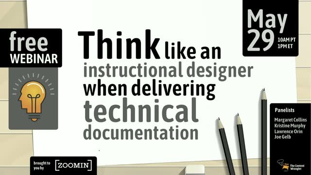 Think Like an Instructional Designer When Delivering Technical Documentation