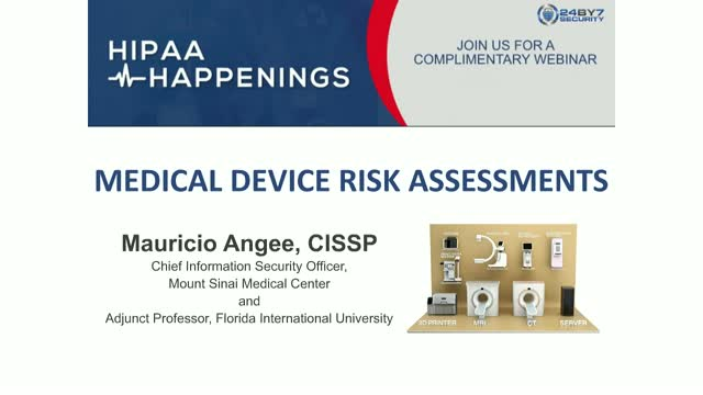 Medical Device Risk Assessments - HIPAA Happenings