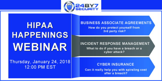 HIPAA: Business Associate Agreements, Cyber Insurance and Incident Response