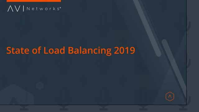 The State of Load Balancing 2019