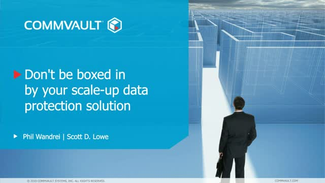 Don't Be Boxed In By Your Scale-Up Data Protection Solution