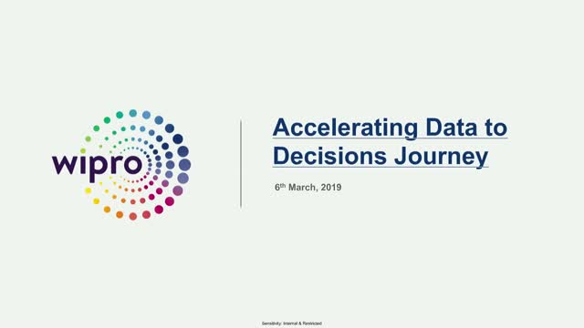 Accelerating Data to Decisions Journey