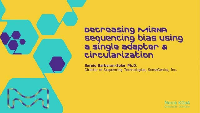 Decreasing miRNA sequencing bias using a single adapter & circularization