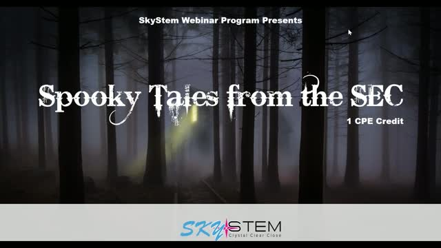 SkyStem: Spooky Tales from the SEC