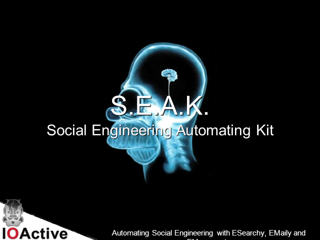Automated Social Engineering