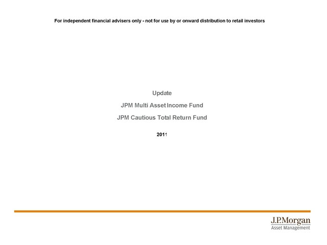 JPM Global Multi Asset Group