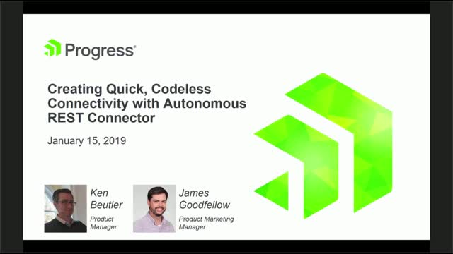 Creating Quick, Codeless Connectivity with Autonomous REST Connector