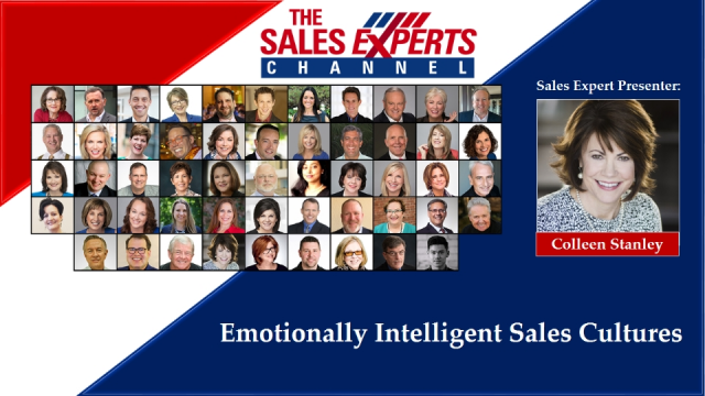 Emotionally Intelligent Sales Cultures