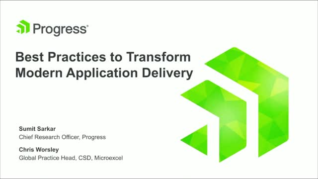 Best Practices to Transform Modern Application Delivery