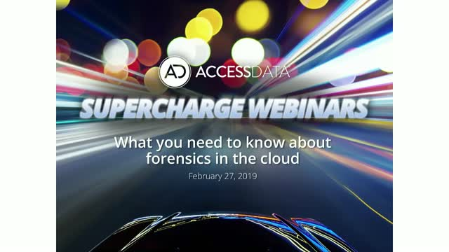 What you need to know about forensics in the cloud