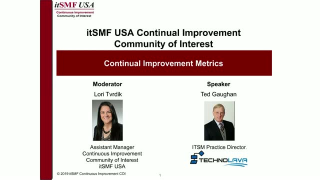 Metrics for Continuous Service Improvement