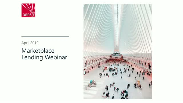 DBRS Webinar on Marketplace Lending
