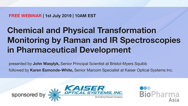 Chemical and Physical Transformation Monitoring by Raman and IR Spectroscopies i