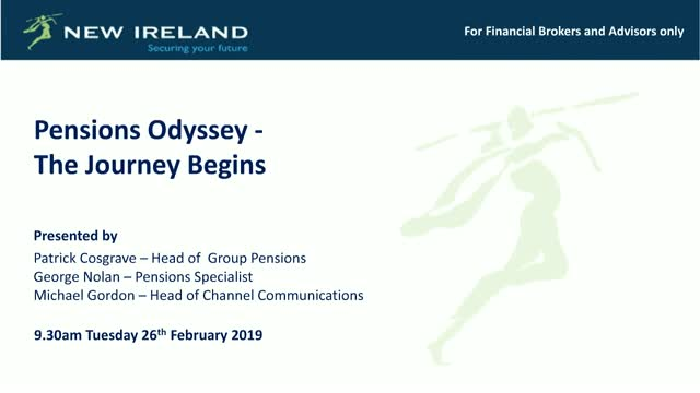Pensions Odyssey - The Journey Begins