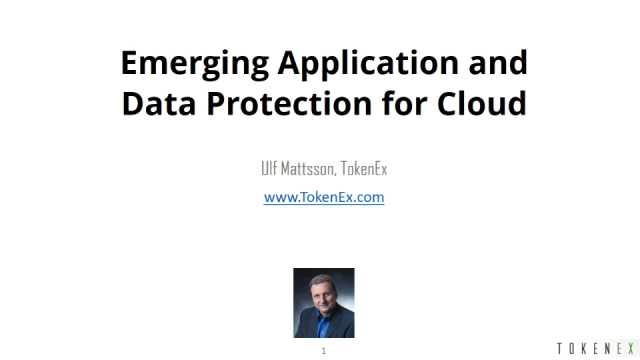 Emerging Application and Data Protection for Cloud