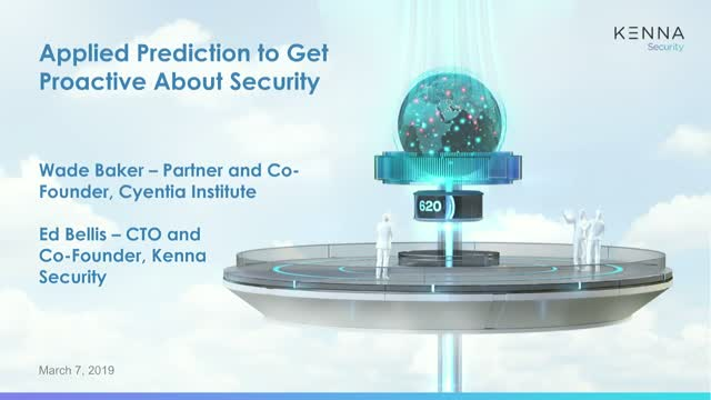 RSA Follow-Up: Applied Prediction to Get Proactive About Security