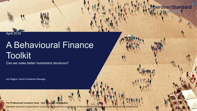An insight into behavioural finance & how it affects investment decision making