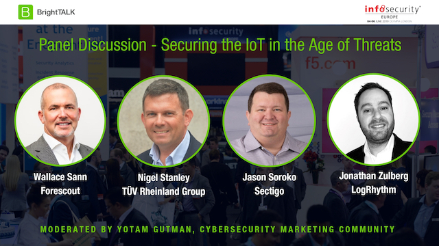 Livestream Video - Securing the IoT in the Age of Threats