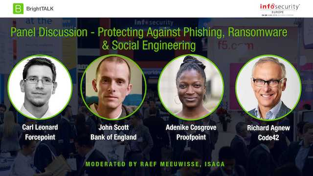 Livestream Video - Protecting Against Phishing, Ransomware & Social Engineering