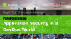 Livestream Video - Application Security in a DevOps World
