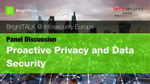 Livestream Video - Proactive Data Privacy and Security