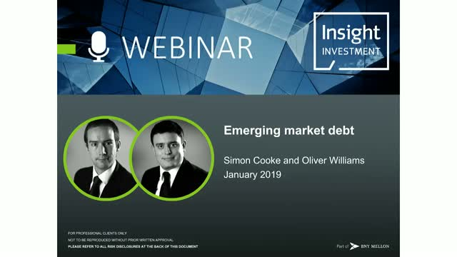 Emerging Market Review and Outlook | January 2019