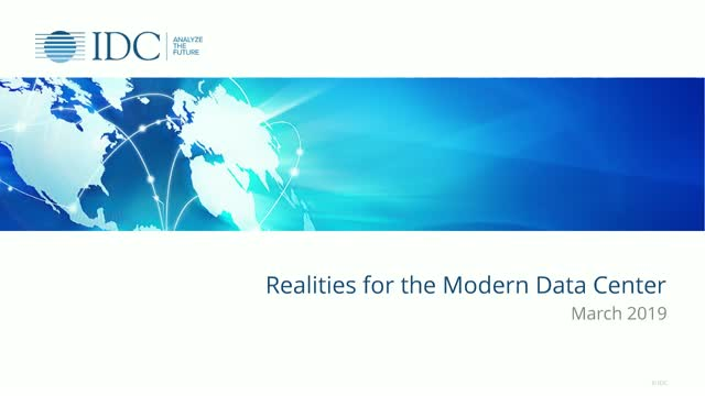 Realities for the Modern Data Center