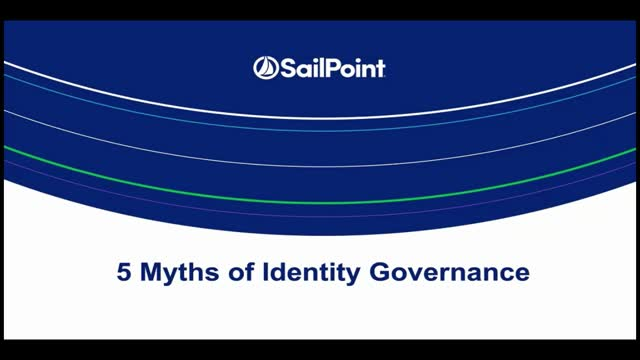 The 5 Myths of Identity Governance