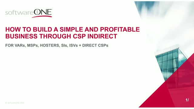 How to Build a Simple and Profitable Business Through CSP Indirect