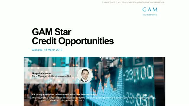 GAM Star Credit Opportunities fund update