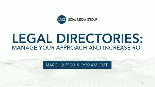 Legal directories: how to manage your approach and maximise ROI