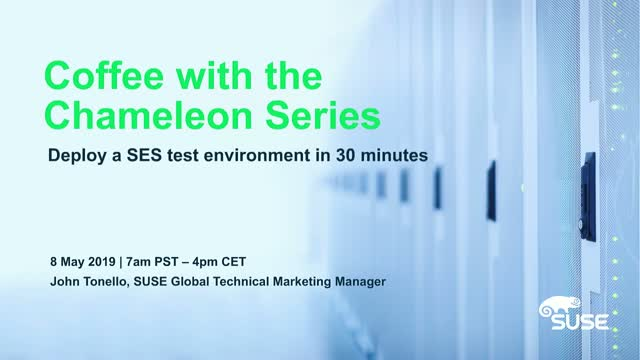 Deploy an SES test environment in 30 minutes