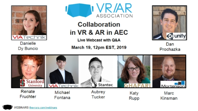 Collaboration in VR & AR in AEC