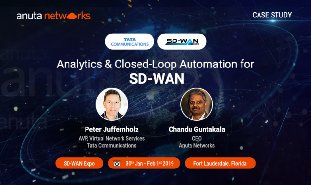 Analytics and Closed-Loop Automation for SD-WAN