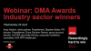 Webinar: DMA Awards - Industry sector winners