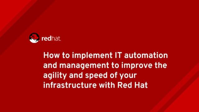 How to implement IT Automation and Management