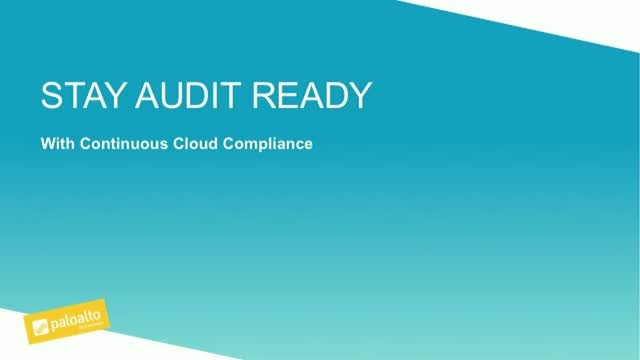Stay Audit Ready with Continuous Cloud Compliance