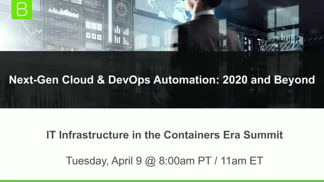 Next-Gen Cloud & DevOps Automation: 2020 and Beyond