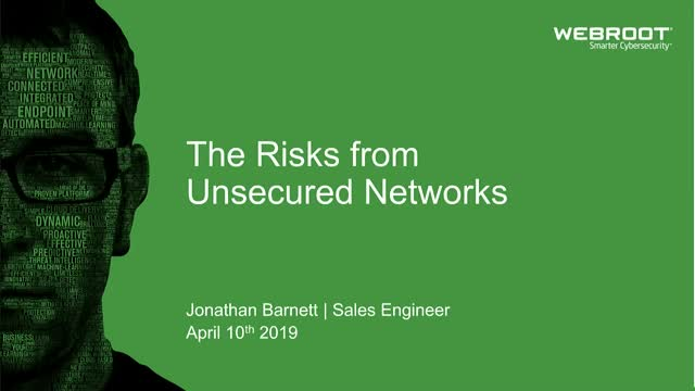 The Risks From Unsecured Networks