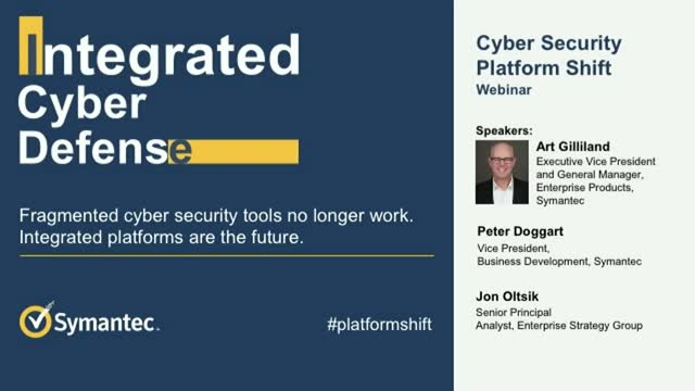 Cyber Security Platform Shift